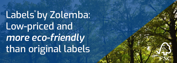 Environmentally Friendly FSC Labels from Zolemba