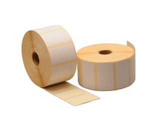 Sato P70011024800 Compatible Labels, 57mm x 32mm, 2100 Labels, 25mm Core, White, Permanent