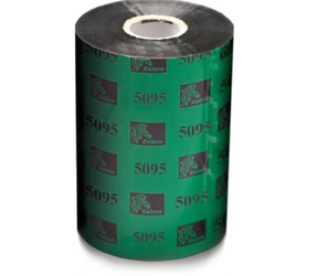 Thermal Ribbon, 5095, Resin, 80mm x 300m, Black (15 per box)