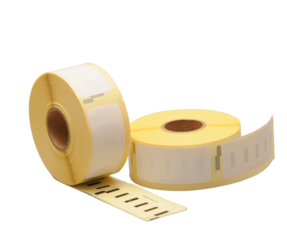 Dymo S0722520 compatible labels, 54mm x 25mm, 500 Labels, White, Permanent