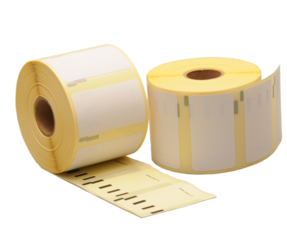Dymo 1933084 compatible labels, 57mm x 32mm, 1000  Labels, White, Permanent (Polypropylene)