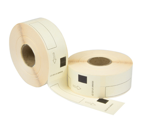 Brother DK-11201 compatible labels, 29mm x 90mm, 400 labels, white, permanent