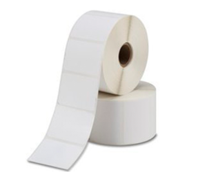 Bixolon 3007207BIX compatible labels, Top, 25mm x 76mm, 930 Labels, 25mm Core, White, Permanent