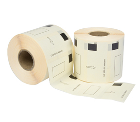 Brother DK-11209 compatible labels, 29mm x 62mm, 800 labels, white, permanent