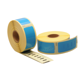 Afbeelding van Dymo 11352 Compatible Labels, 54mm x 25mm, 500 Labels, Blue, Permanent