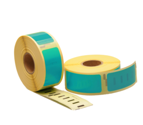 Dymo 11352 Compatible Labels, 54mm x 25mm, 500 Labels, Sea-Green, Permanent