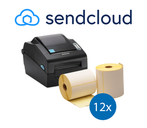 SendCloud Starter Package | Bixolon SLP-DX420EG Ethernet Printer + 12 Label Rolls in 102mm x 150mm