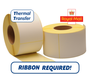 TTR Zebra Royal Mail (87985) compatible shipping label, 102mm x 152mm, 900 Labels, 76mm Core