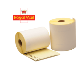 Dymo S0904980 compatible labels Royal Mail, 104mm x 159mm, 220 labels, white, permanent