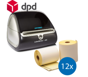 Starter Package DPD | Dymo LW 4XL + 12 rolls compatible Dymo S0904980
