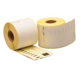 Dymo 99014 Compatible Labels, 101mm x 54mm, 180 labels, White, Permanent, Polypropylene