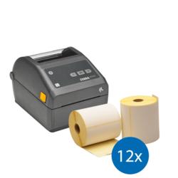 Afbeelding van Emergency Package | Zebra ZD420D Printer + 12 Label Rolls