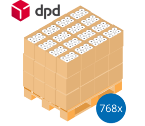 DPD Pallet Deal: 768 Label Rolls | 102mm x 150mm (4