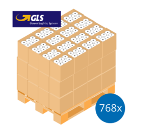 GLS Pallet Deal: 768 Label Rolls | 102mm x 150mm (4