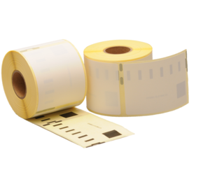 Dymo 99014 compatible labels, 101mm x 54mm, 220 labels, white, removable