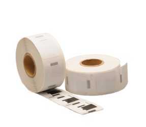 Dymo S0929120 compatible labels, 25mm x 25mm, 750 labels, white, removable