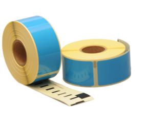 Afbeelding van Seiko SLP-1BLB compatible labels, 89mm x 28mm, 260 labels, blue
