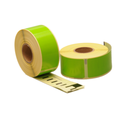 Afbeelding van Seiko SLP-1GLB compatible labels, 89mm x 28mm, 260 labels, green