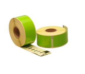 Afbeelding van Seiko SLP-1GLB compatible labels, 89mm x 28mm, 260 labels, green