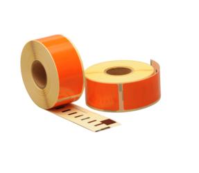 Afbeelding van Seiko SLP-1OLB compatible labels, 89mm x 28mm, 260 labels, orange