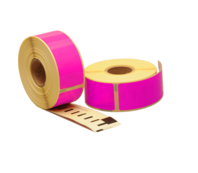 Afbeelding van Seiko SLP-1PLB compatible labels, 89mm x 28mm, 260 labels, pink