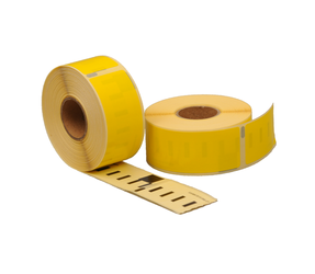Afbeelding van Seiko SLP-1YLB compatible labels, 89mm x 28mm, 260 labels, yellow
