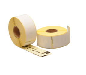 Seiko SLP-2RL compatible labels, 89mm x 28mm, 130 labels, white, permanent