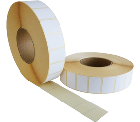 Zebra compatible labels, 38mm x 25mm, 5.180 labels, 76mm core, white, permanent