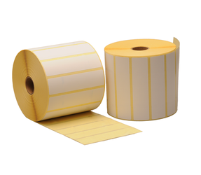 Zebra compatible labels, 102mm x 25mm, 2.580 labels, 25mm core, white, permanent
