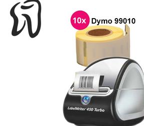 Afbeelding van Dental Practice Starter Package | Dymo LabelWriter 450 Turbo + 10