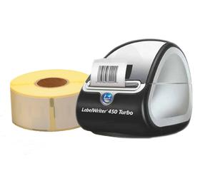 Afbeelding van Digital Stamps Package | Dymo LabelWriter 450 Turbo + 3 Dymo 99010