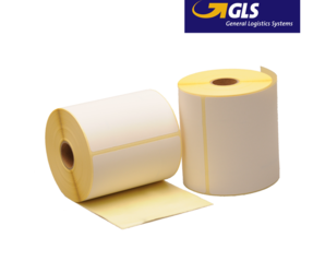 Zebra compatible GLS shipping labels, 102mm x 150mm, 300 labels, 25mm core, white, permanent