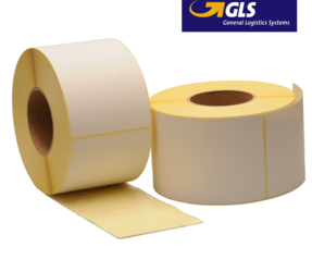 Zebra compatible GLS shipping labels, 102mm x 150mm, 900 labels, 76mm core, white, permanent