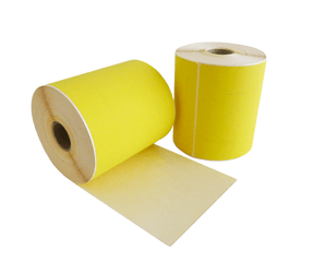 Thermal Shipping Labels DHL, 102mm x 210mm, ECO, 195 Labels, 25mm Core, Yellow, Permanent