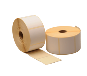 Zebra compatible labels, 57mm x 51mm, 1370 labels, 25mm core, white, removable