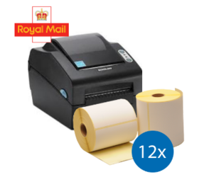 Royal Mail Starter Package | Bixolon SLP-DX420G + 12 rolls 102mm x 150mm (4